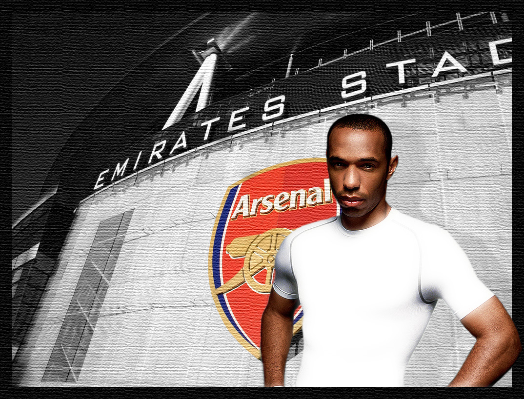 thierry henry arsenal hd wallpaper